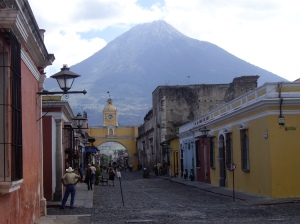 Antigua, Arco de Santa Catarina, Guatemala