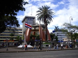San Jose, Parque Central, Costa Rica