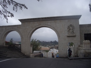 Yanahuara, αψίδα του 18ου αιώνα