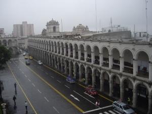 Η κεντρική calle Moran