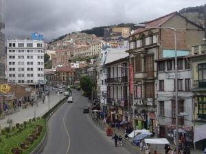 Άποψη της La Paz
