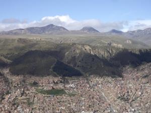 Η La Paz από ψηλά