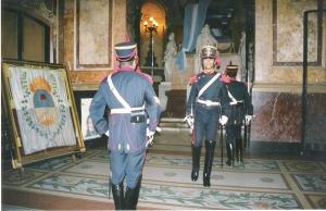 Φρουρά: τύμβος San Martin