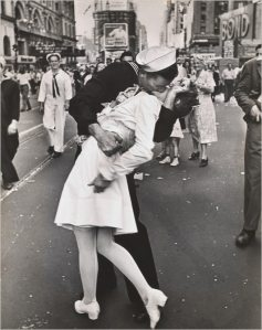 Times Square, New York, 14.08.1945