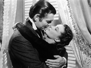 Clark Gable (Rhett Butler) - Vivian Leigh (Scarlett O'Hara)