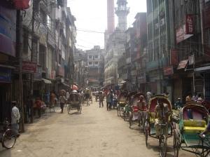 Στην παλιά πόλη της Dhaka