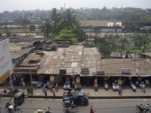 Chittagong, ο σταθμός του τραίνου στη συνοικία Sadarghat