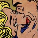 Roy Lichtenstein: Kiss (1962)