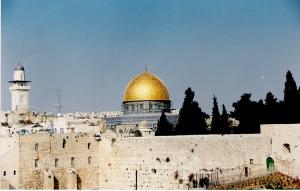 Ο Θόλος του Βράχου στο Όρος του Ναού (כיפת הסלע) - Ιερουσαλήμ, είναι το παλαιότερο διατηρημένο (από το 691) μουσουλμανικό κτίσμα στον κόσμο