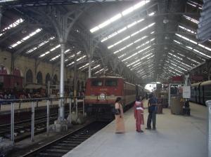 Αυτή τη φορά δεν πήγα ούτε αεροπορικώς ούτε με αυτοκίνητο, αλλά πήρα τραίνο από το Μαντράς