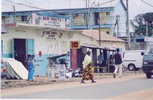 Δρόμος στην Serekunda