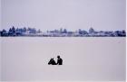 Μπάνιο καβάλα στ' άλoγο, στον ποταμό Σενεγάλη, σύνορα με Μαυριτανία