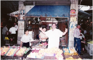 Τυπική κλειστή αραβική αγορά