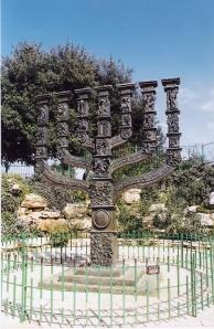Στην είσοδο της Κνεσέτ (Ισραηλινή βουλή)