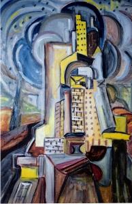 Ο Πύργος της Βαβέλ. Μουσείο του Τελ Αβίβ. Συμβολική η τελευταία φωτογραφία του οδοιπορικού στη Μέση Ανατολή...