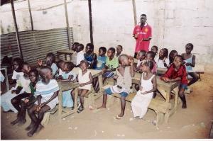 Σε σχολεία της Γκάμπια