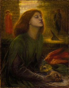 Dante Gabriel Rossetti ''Beata Beatrix'' (1864-1870)