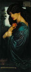 Η έβδομη βερσιόν της Περσεφόνης του Ροσέτι, στην Tate Gallery του Λονδίνου.