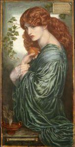 Η 8η και τελική βερσιόν της Περσεφόνης του Ροσέτι, στο Birmingham Museum and Art Gallery.