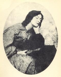 Η Elizabeth Siddal σε φωτογραφία