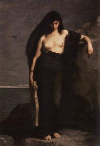 Sappho, Charles August Mengin