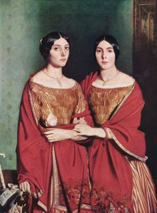 Théodore Chassériau, The Two Sisters, 1843.