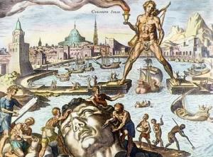 Martin Heemskerck, Colossus of Rhodes