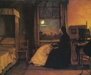 Past and Present 2 (The Abandoned Daughters). Augustus Leopold Egg, 1858. Λάδι σε καμβά, Tate Galley, Λονδίνο.