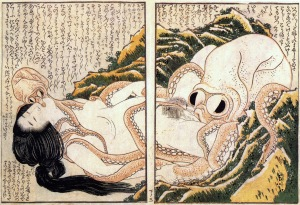 Katsushika Hokusai: «Το Όνειρο της Γυναίκας του Ψαρά»