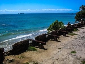 Τα κανόνια του Castillo San Carlos de Borromeo.  Pampatar, Isla Margarita.