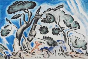 Κωνσταντίνος Παρθένης: «Η Μάχη του Ηρακλή με τις Αμαζόνες»