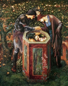 Edward Coley Burne-Jones «The Baleful Head» (c.1876)