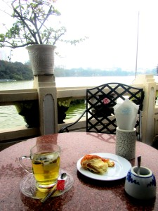 Breakfast at Thuy Ta Cafe