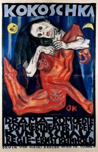 Πόστερ του Oskar Kokoschka για την πρεμιέρα του