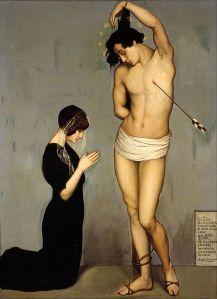 Ángel Zárraga, Votive Offering (Saint Sebastian) 1912. Museo Nacional de Arte.