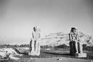 Τα αγάλματα του Μέμνονος στις Θήβες της Αιγύπτου