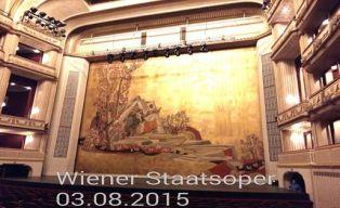 """""""Ορφέας και Ευρυδίκη"""". Το θέμα της """"Κουρτίνας Ασφαλείας"""" της Κρατικής Όπερας της Βιέννης."""