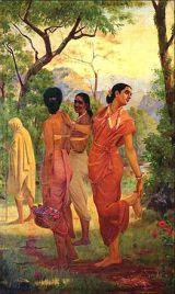 263px-Raja_Ravi_Varma_-_Mahabharata_-_Shakuntala βοιυσαντα