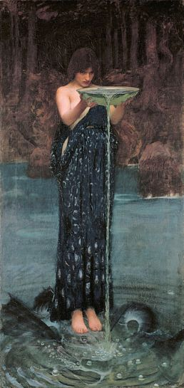 Circe_Invidiosa_-_John_William_Waterhouse