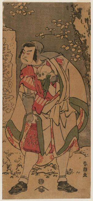 Actor Sakata Hangorō III as a Traveling Priest,