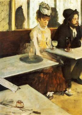 Au Café (l'Absinthe)