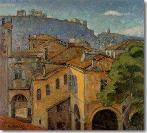 Μιχαήλ Αξελός ''Παλιά Αθήνα'' (1927)