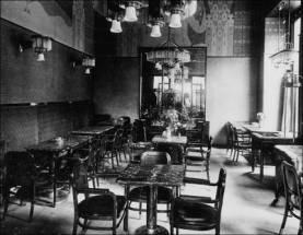 Le café Arco en 1909