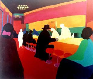 Robert Hammerstiel «Café στο Μανχάταν»