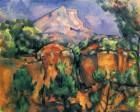 «Le Mont Sainte-Victoire vu de la carrière Bibémus»