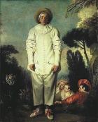 Jean-Antoine Watteau, «Gilles» («Pierrot»).